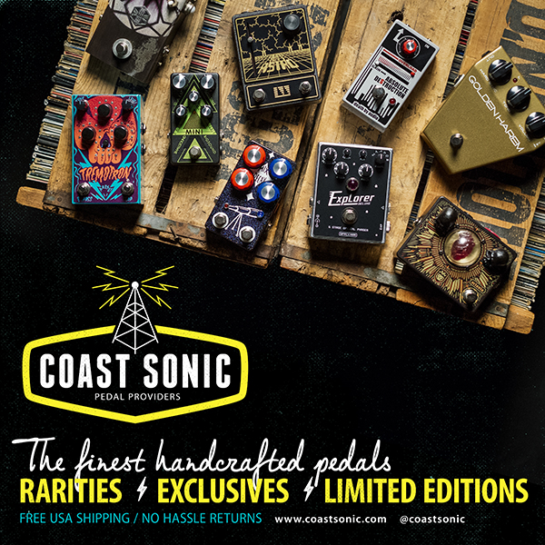 Advertisement - Coast Sonic Pedal Providers