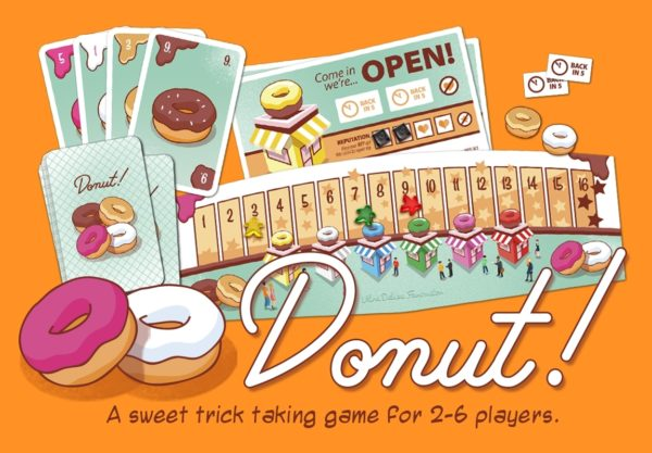 Donut! A sweet trick taking game.