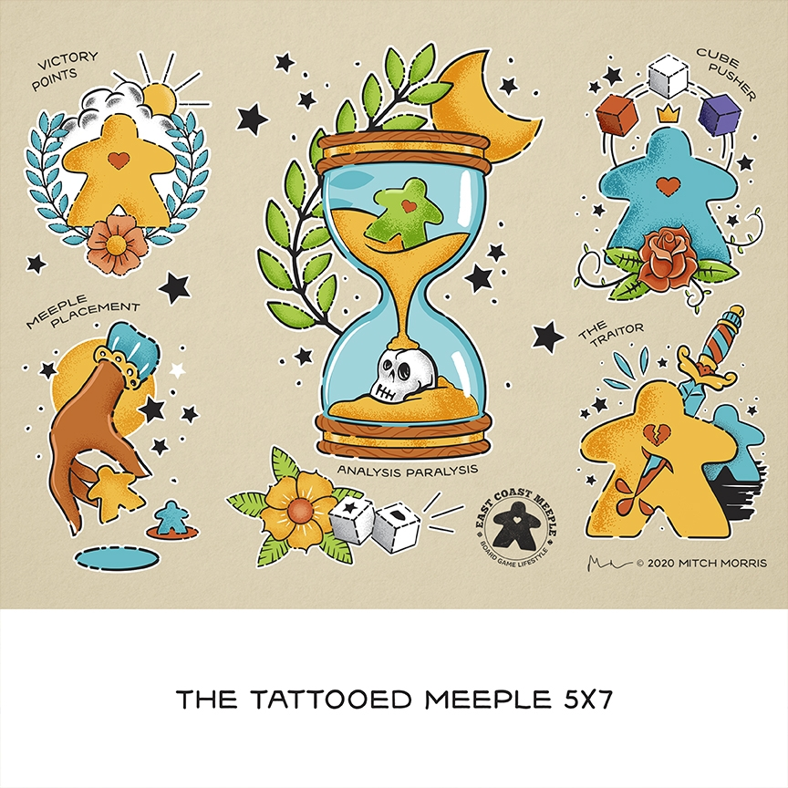 The Tattooed Meeple Collection
